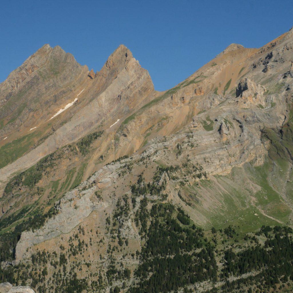 Pico de Pineta y Garien desde la Estiva