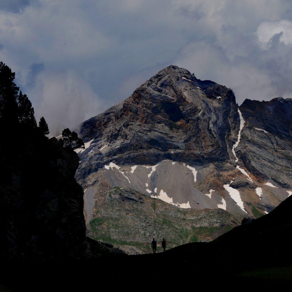 Pico de la Capilla desde Plana Fonda