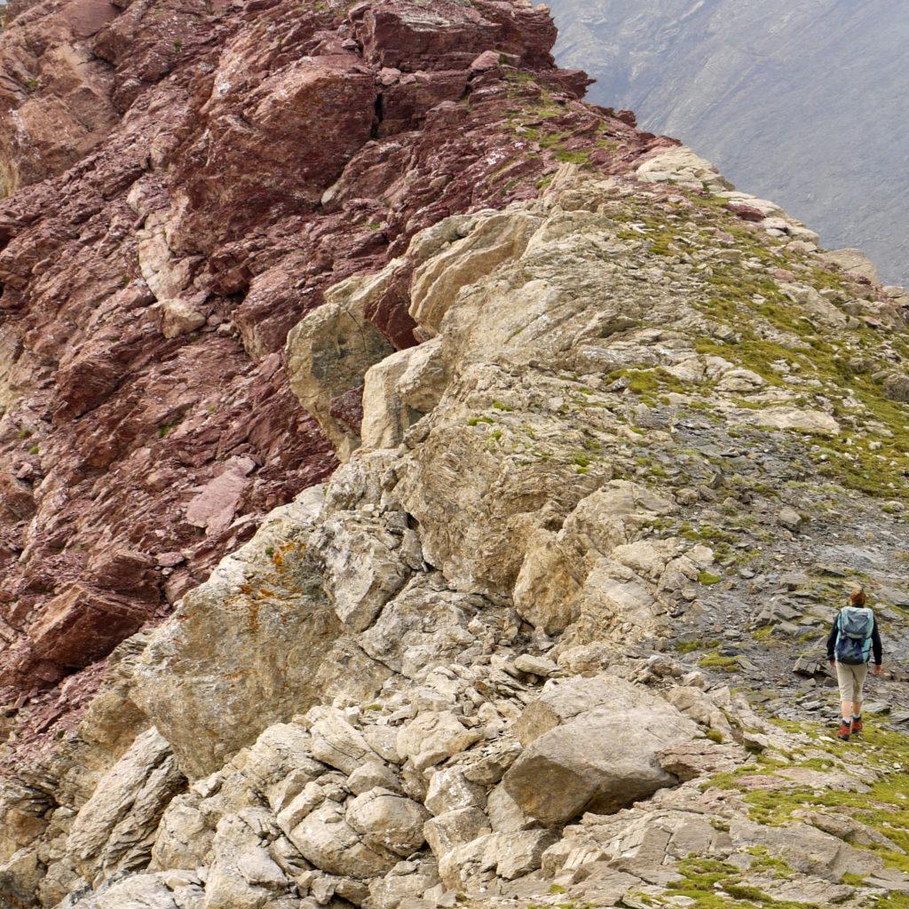 Cerca de la cima del Chinipro