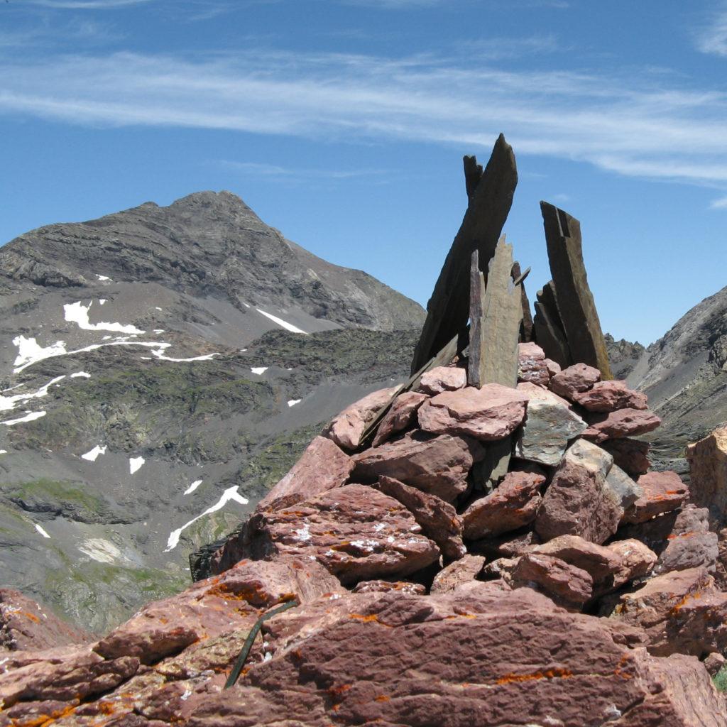 Munia desde la cima del Chinipro