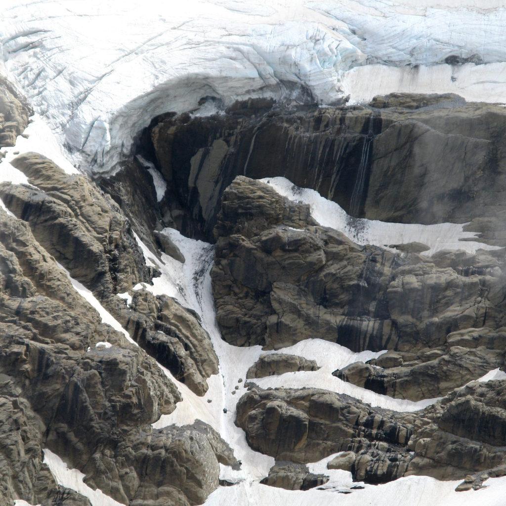 Glaciar Monte Perdido desde el Balcon
