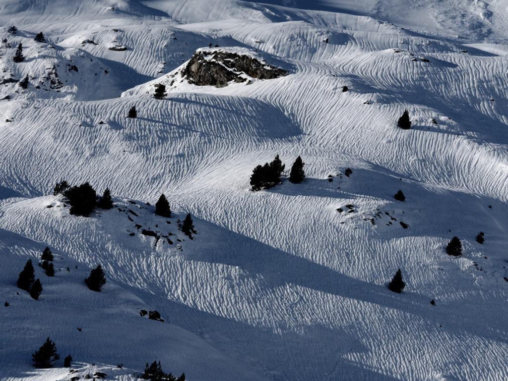 Cara norte, debajo del Pico Barrosa