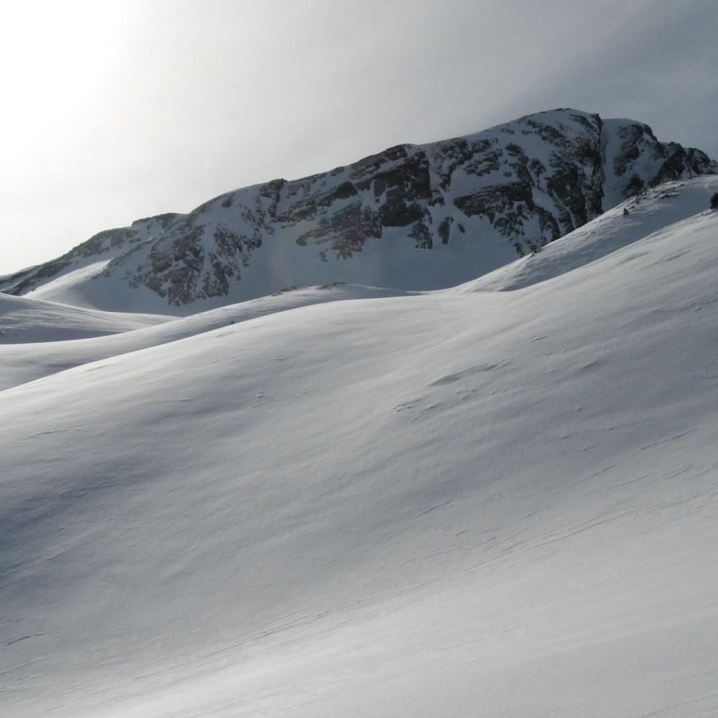 Corredor norte de la cresta de Bataillence